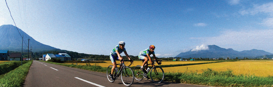 Cycling in Niseko